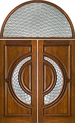 Tiffany with Half Round Transom