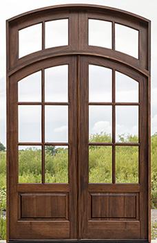OLYMPUS Door 2 Sidelights & International Wood Trade™ Whitehawk Doors